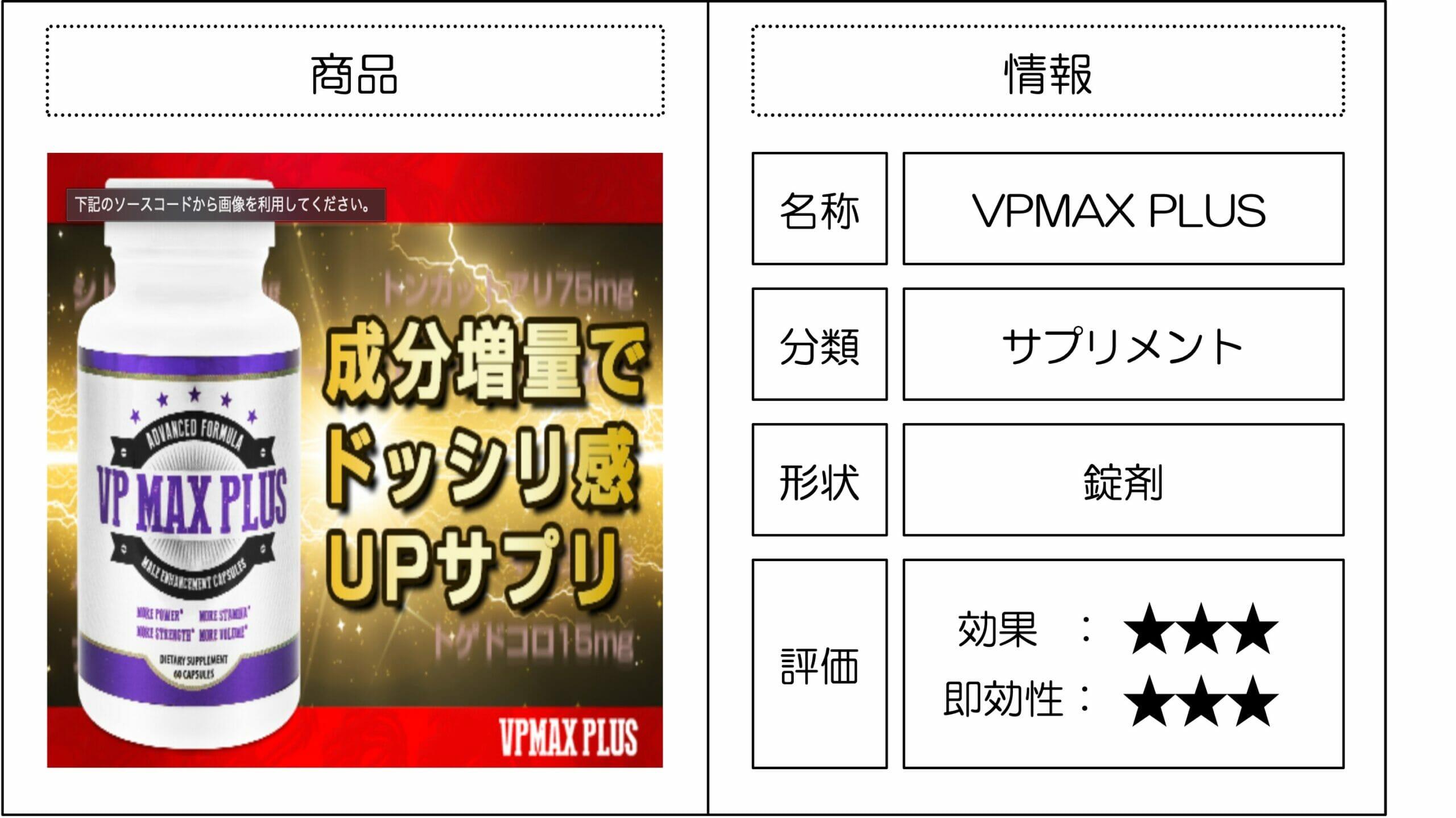 VPMAX 精力剤