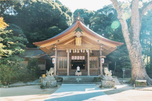 竈門神社の画像