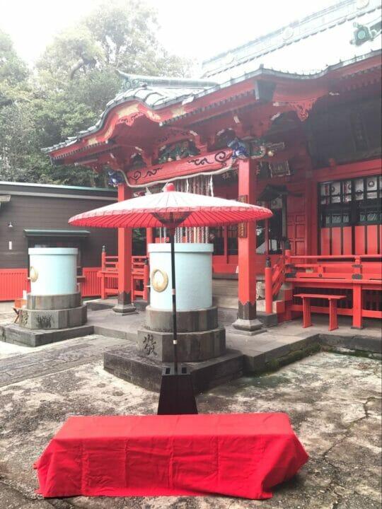 海南神社の写真